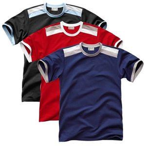 Tričko 3 ks čiena+červená+nám.modrá 87/96 (M) vyobraziť