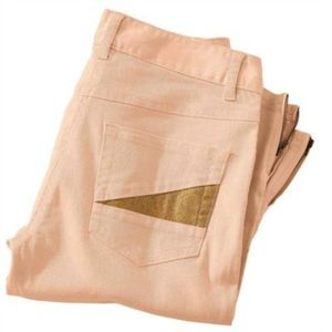 Nohavice, vn.dĺ.noh.76 cm sv. ružová 38 vyobraziť