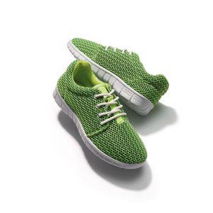 Štýlové dámske tenisky zelená 36 vyobraziť