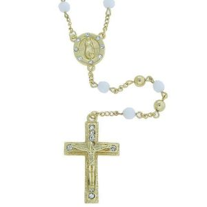 Iced Out Bling Fashion Necklace - Rosary gold - Uni / zlatá vyobraziť