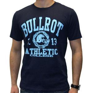 Bullrot Wear T-shirt black/royal - 2XL / navy-tyrkysová vyobraziť