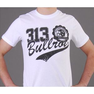 Bullrot Wear T-shirt White - M / bielo-čierna vyobraziť