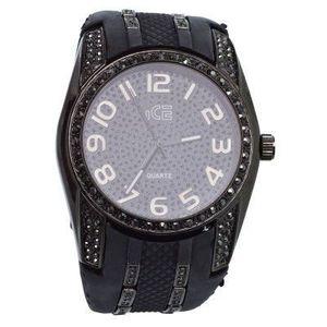 Iced Out hodinky - Uni / čierna vyobraziť