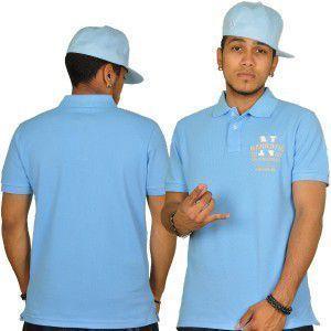 Narkotic Wear Polo Shirt Blue - 2XL / bledomodrá vyobraziť