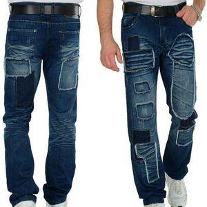 Sucker Grand Men Regular Fit Jeans Blue - 32/34 / modrá vyobraziť