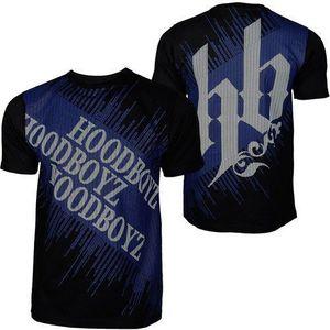 Hoodboyz Carpet T-shirt Black Blue - M / čierno-modrá vyobraziť