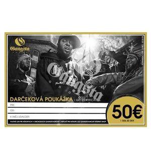 GangstaGroup Gift Certificate - Darcekova Poukazka - Uni vyobraziť