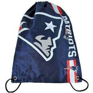 18e29f95e67 Forever Collectibles NFL Stripe Primetime Backpack PATRIOTS - Uni ...