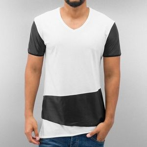 Just Rhyse PU T-Shirt White - XL vyobraziť