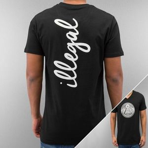 Just Rhyse Illegal T-Shirt Black - S vyobraziť