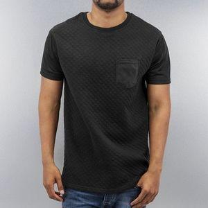 Just Rhyse Quilted T-Shirt Black - S vyobraziť
