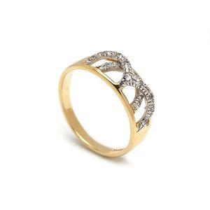 Zlatý dámsky prsteň ELNORA vyobraziť
