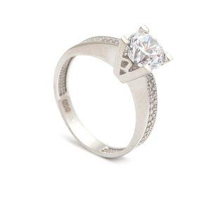 Zlatý zásnubný prsteň LONGINA (45 kúskov) - ModaModa.sk ca2c47a7a6b