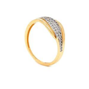 Zlatý dámsky prsteň THERESE vyobraziť