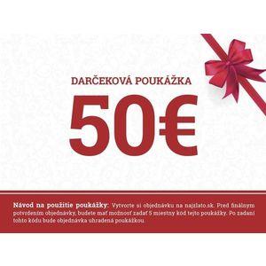 Darčeková poukážka 50€ vyobraziť