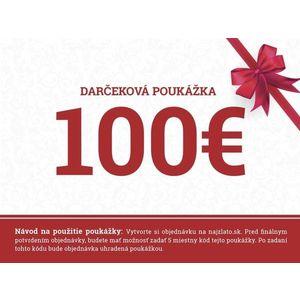 Darčeková poukážka 100€ vyobraziť