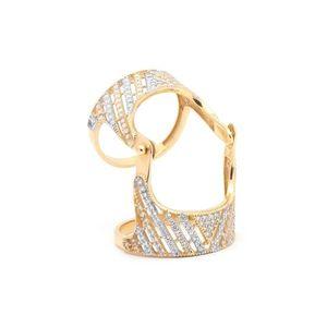 Zlatý dámsky prsteň CHARLOTTA vyobraziť