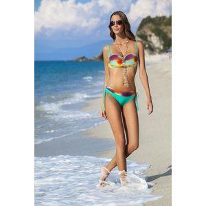 Dámske dvojdielne plavky Atena green vyobraziť