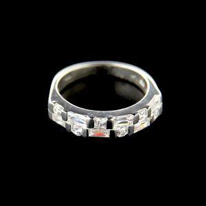 Strieborný prsteň 34656 vyobraziť