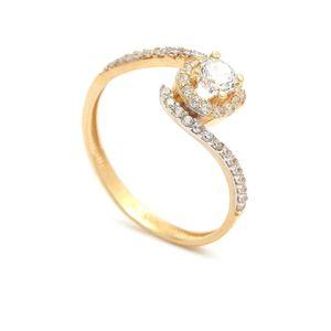 Zlatý zásnubný prsteň KIMIMELA (45 kúskov) - ModaModa.sk 2a9c50f1cb6