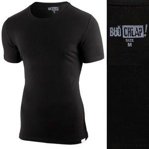 Čierne tričko BUĎ CHLAP! vyobraziť