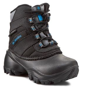 Trekingová obuv COLUMBIA - Childrens Rope Tow III Waterproof BC1322  Black Dark Compass 010 24189a79dca
