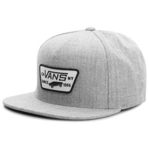 VANS Pánska šiltovka Full Patch Snapback Hat Heather Grey VQPUHTG ... d8e553b4a3c