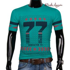 11074-23 Zelené tričko s originálnou potlačou SEMAL vyobraziť
