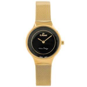 Dámske hodinky s čiernym ciferníkom G.Rossi 11919B-1D1 (47 kúskov ... 70a9bfb1cf