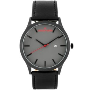 Pánske sivo-čierne hodinky Jordan Kerr L101-B vyobraziť