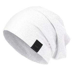 Master Dis Jersey Beanie White - S/M / biela vyobraziť