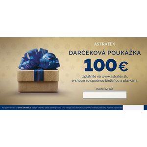 Darčeková poukážka 100 EUR vyobraziť