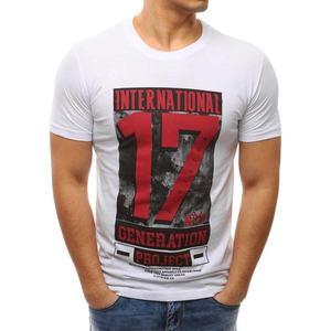 Klasické biele tričko s potlačou 17 vyobraziť