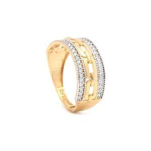 Zlatý dámsky prsteň ELCIDA vyobraziť