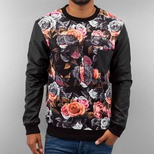 Just Rhyse Rose Sweatshirt Black - 2XL vyobraziť
