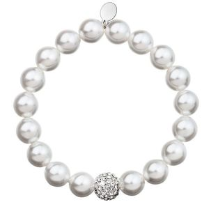 Perlový náramok biely 33074.1 vyobraziť