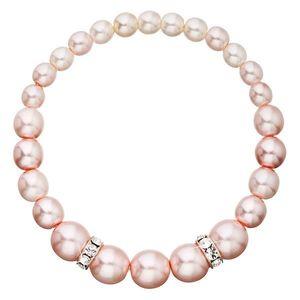 Perlový náramok ružový 33091.3 vyobraziť