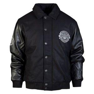 Amstaff Basto Collegejacket - L / čierna vyobraziť