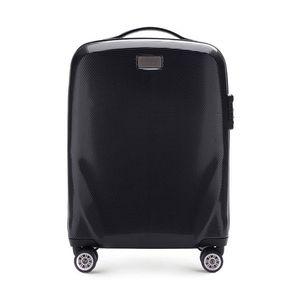 Praktický malý cestovný kufor. vyobraziť