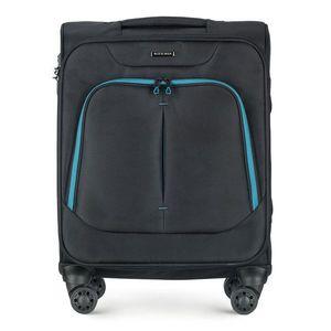 Cestovný kufor na palubu lietadla. vyobraziť