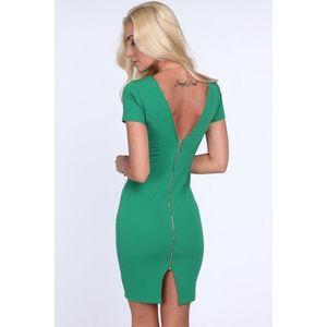 18448fe9bfe8 Dámske šaty so zipsom - 4 farby Barva  krémová