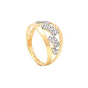 Zlatý dámsky prsteň KANUT vyobraziť