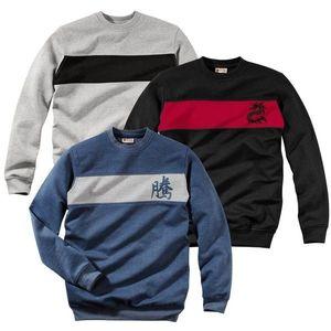 Originálny pánsky čierny sveter vyobraziť