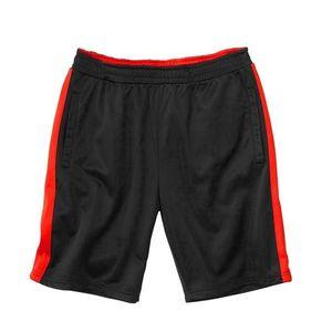 2461c6257c61 Športové šortky z česaného mikrovlákna čierna oranžová 40 42