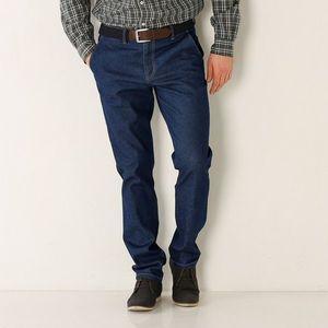 Nohavice Chino z denimu tmavomodrá 40 vyobraziť
