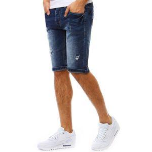 Granátové pánske šortky vyobraziť