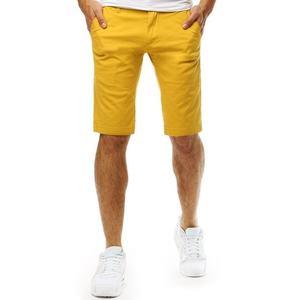 Štýlové žlté kraťasy vyobraziť