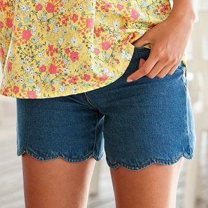 Šortky džínsové modrá 38 vyobraziť