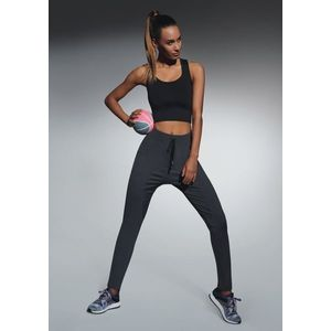 Fitness legíny Lorena graphite vyobraziť