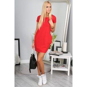Červené športové šaty vyobraziť